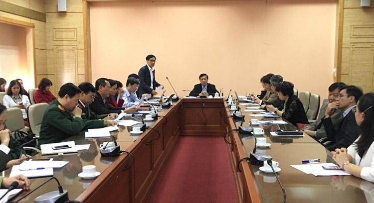 Bộ Y tế tổ chức họp Ban Chỉ đạo phòng, chống dịch bệnh viêm phổi cấp do chủng vi-rút mới.