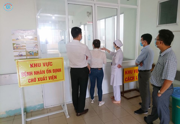 Khu cách ly của bệnh viện đa khoa tỉnh Bình Thuận. (Ảnh: KT)