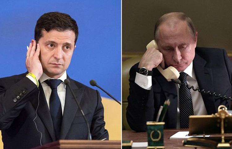 Cuộc gặp cấp cao giữa ông Putin và ông Zelensky tới đây là cơ hội khởi động mới cho mối quan hệ Nga - Ukraine. (Ảnh: KT)