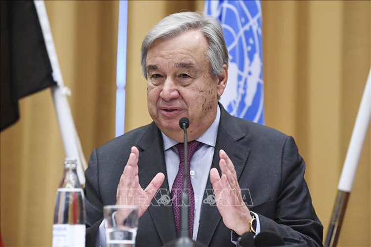 Tổng Thư ký Liên hợp quốc Antonio Guterres. (Nguồn ảnh: TTXVN)