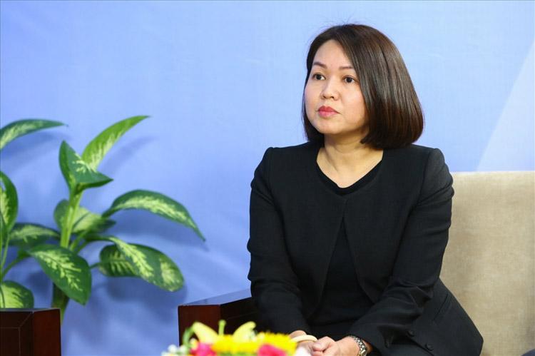 Bà Trần Việt Nga - Phó Cục trưởng Cục An toàn thực phẩm - Bộ Y tế