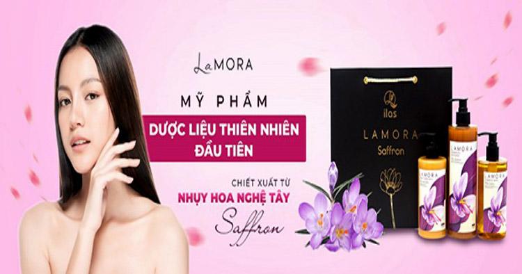 """LaMORA đã sử dụng """"vàng đỏ"""" Saffron vào thành phần chính của dòng mỹ phẩm dược liệu thiên nhiên của mình."""
