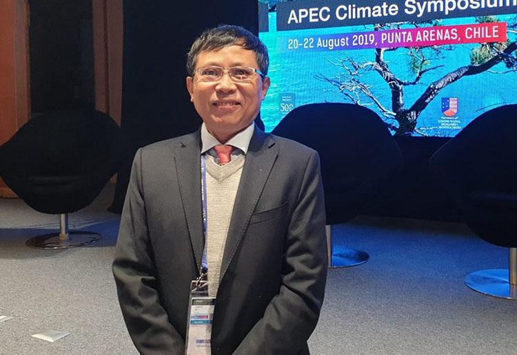 Ông Lê Thanh Hải - nguyên Phó Tổng cục trưởng Tổng cục Dự báo Khí tượng Thủy văn, Tổng thư ký Hội khí tượng Thủy văn Việt Nam.