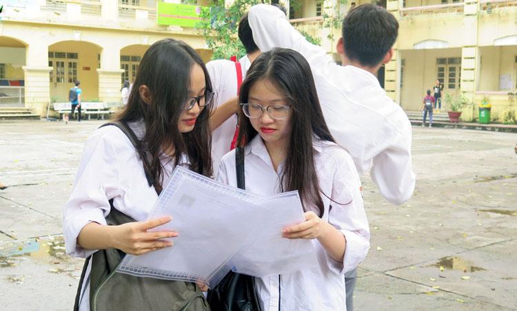 Theo phương án của Bộ GD-ĐT, từ năm 2021, thí sinh thi THPT quốc gia trên máy tính.