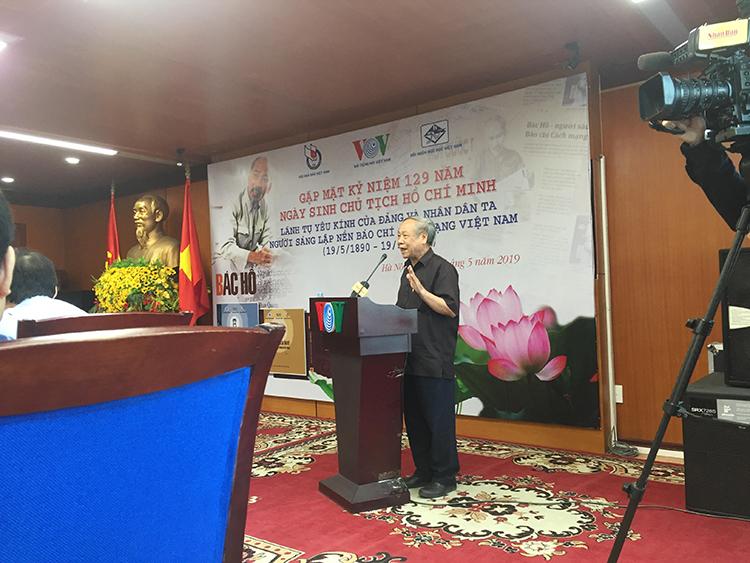 Nhà báo Trần Đức Nuôi