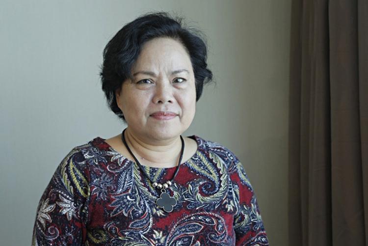 Nhà biên kịch Trịnh Thanh Nhã.