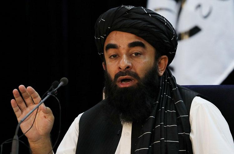 Người phát ngôn Taliban - Zabihullah Mujahid (Ảnh: Reuters).