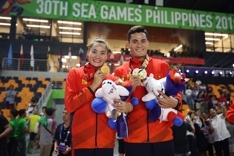 Quách Công Lịch và Quách Thị Lan là số ít những cặp anh em ruột trong làng thể thao Việt Nam có sự nghiệp thi đấu thành công.