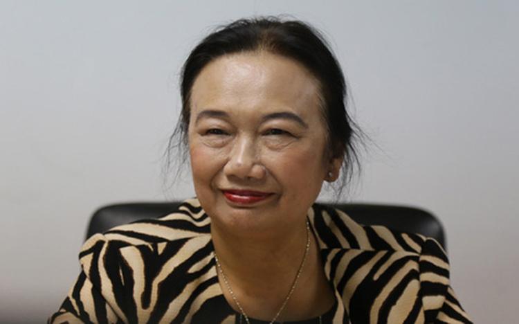 Bà Nguyễn Thị Cúc, Chủ tịch Hội tư vấn Thuế Việt Nam.