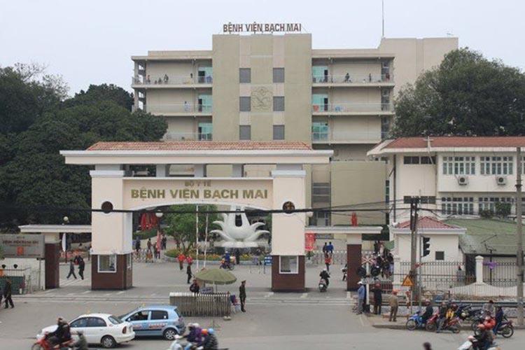 Các biện pháp chống dịch tạiBệnh viện Bạch Mai đang được triển khai mạnh mẽ.