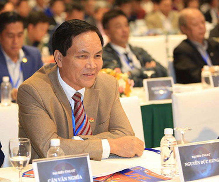 Ông Cấn Văn Nghĩa rút lui khỏi chức vụ PCT phụ trách tài chính VFF.