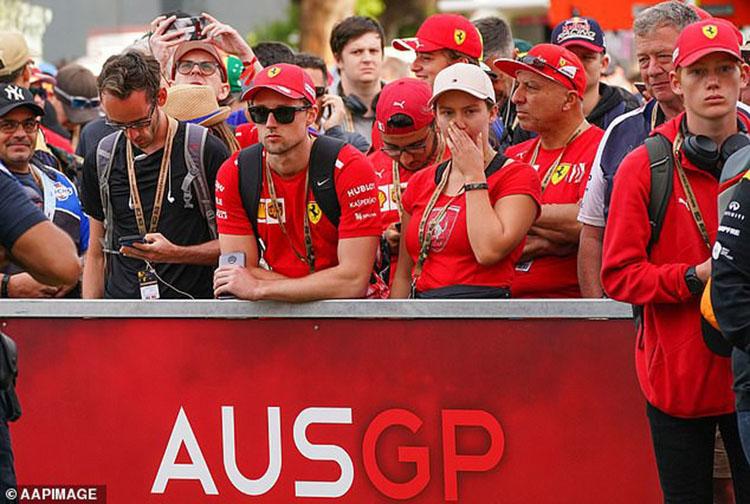 Chặng đua F1 đầu tiên, Melbourne (Australian Grand Prix) của mùa giải 2020 cùng 3 chặng tiếp theo đã hoãn vô thời hạn vì Covid-19. (Ảnh: AAP).