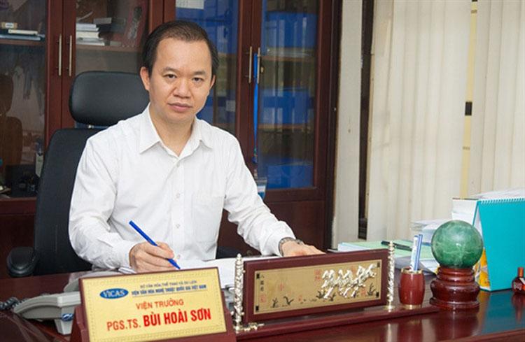 PGS.TS Bùi Hoài Sơn, Ủy viên thường trực, Ủy ban Văn hóa, giáo dục của Quốc hội.
