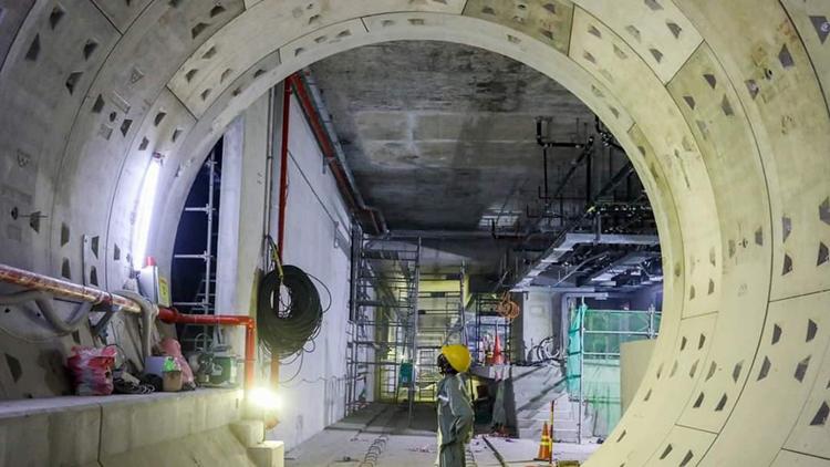 Dự án tuyến Metro số 1 của TP.HCM (Ảnh minh họa: KT)