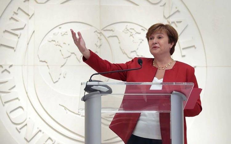Giám đốc Điều hành IMF Kristalina Georgieva. Ảnh: Reuters