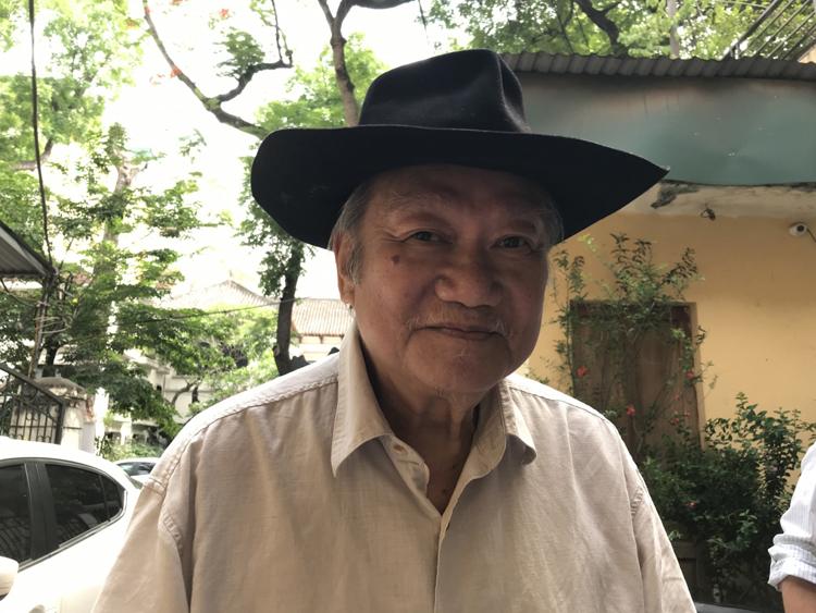 NSND Đào Trọng Khánh. Ảnh: Hoàng Thu Phố.