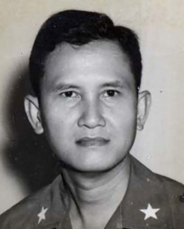 Ông Nguyễn Hữu Hạnh khi còn là Chuẩn tướng Việt Nam Cộng hòa. Ảnh: Tư liệu