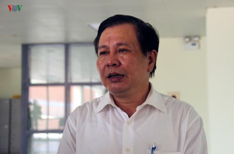 Ông Lê Ngọc Quang, Phó Giám đốc Sở GD-ĐT Hà Nội.