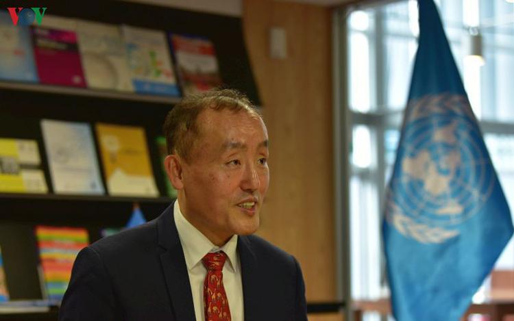 Tiến sỹ Kidong Park, Trưởng Đại diện Tổ chức Y tế Thế giới (WHO) tại Việt Nam.