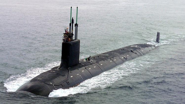 Tàu ngầm hạt nhân lớp Virginia của Mỹ. Ảnh: Hải quân Mỹ.