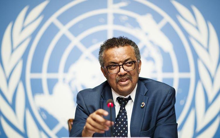 Tổng Giám đốc Tổ chức Y tế thế giới (WHO) Tedros Adhanom Ghebreyesus. Ảnh: AP