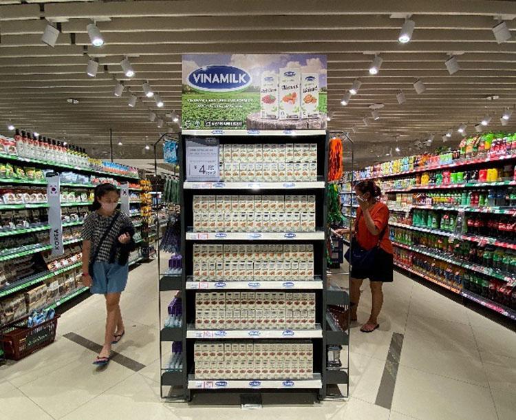 Đáp ứng được các yêu cầu từ đối tác trong giai đoạn nhiều biến động, sản phẩm Vinamilk vẫn duy trì sự hiện diện tại các thị trường quốc tế