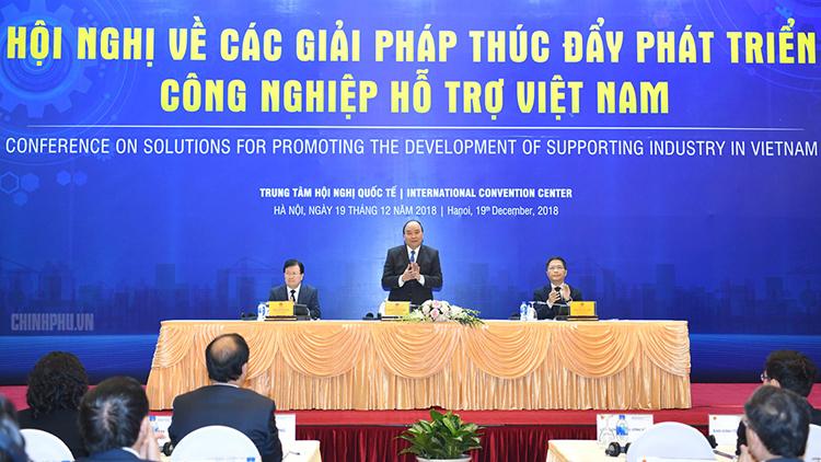 Thủ tướng Nguyễn Xuân Phúc chủ trì và phát biểu chỉ đạo tại Hội nghị