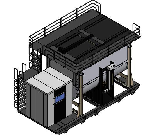 Máy xử lý rác và chất thải hữu cơ thành phân hữu cơ vi sinh