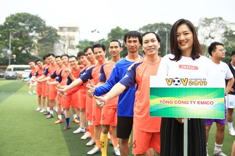 Đội bóng Tổng công ty Emico - 1 trong những hạt giống cho chức vô địch.