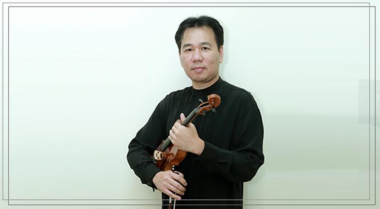 Nghệ sĩ violon Phạm Trường Sơn.