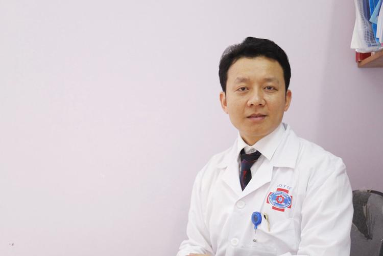 TS.BS Ngô Xuân Quý, Trưởng khoa Ngoại đầu cổ Bệnh viện K.