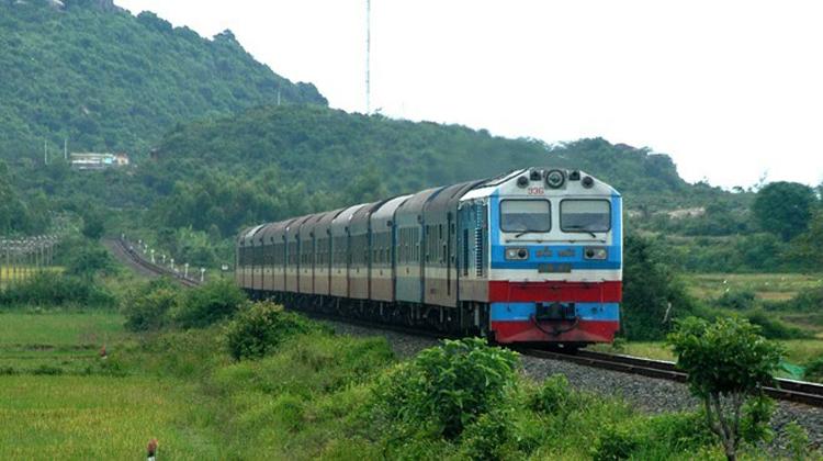 Đường sắt Việt Nam lỗ 450 tỷ đồng trong 6 tháng đầu năm. Ảnh: ANTD