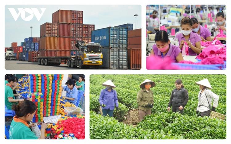 Xuất siêu của Việt Nam đạt con số kỉ lục trong 8 tháng đầu năm nay. (Ảnh minh họa)