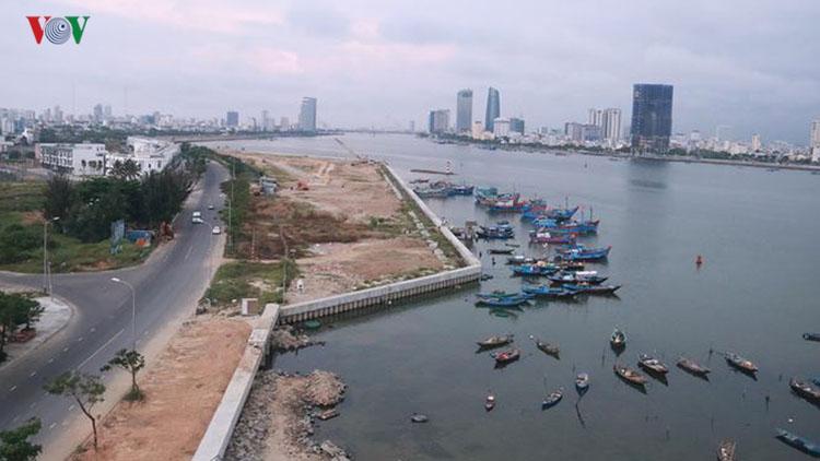 Hai dự án lấn sông Hàn sẽ không còn nhà cao tầng.