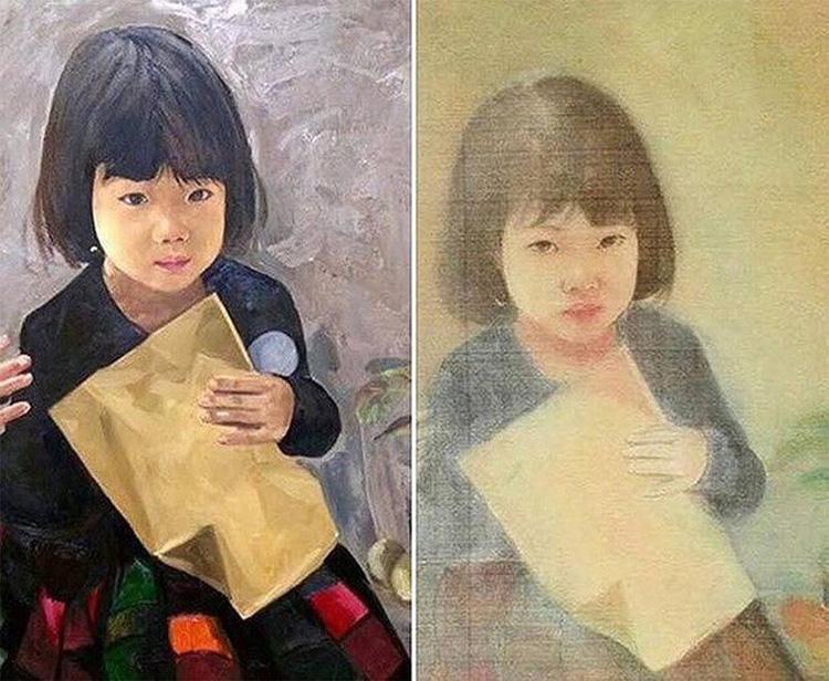 Vụ tranh lụa giả chữ ký của cố họa sĩ Vũ Giáng Hương từng gây ồn ào trong giới mỹ thuật.