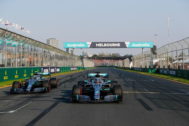 Chặng F1 đầu tiên ở Australia vẫn tổ chức đúng kế hoạch từ ngày 13 - 15/3 tới.