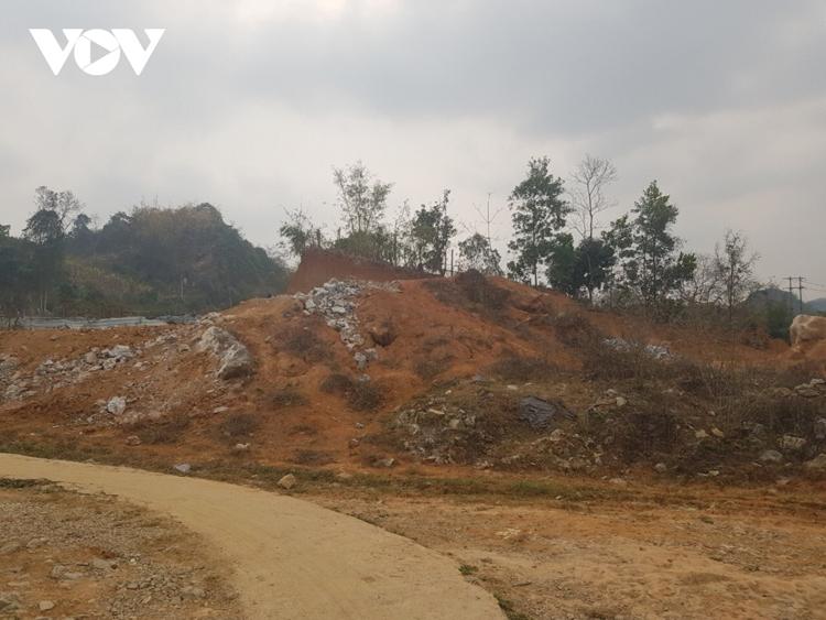 Một khu đất tại trong vùng dự án, doanh nghiệp đã nhận tiền của dân, nhưng không có đất để giao.