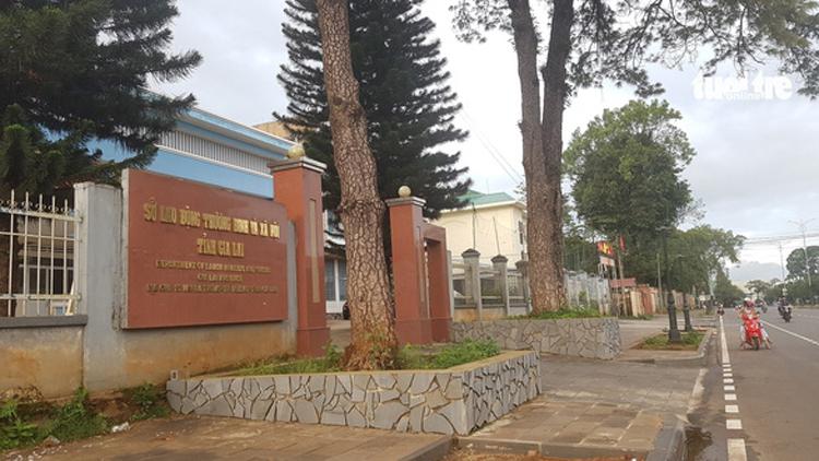 Sở Lao động - Thương binh và Xã hội tỉnh Gia Lai. (Ảnh: Báo Giao thông)