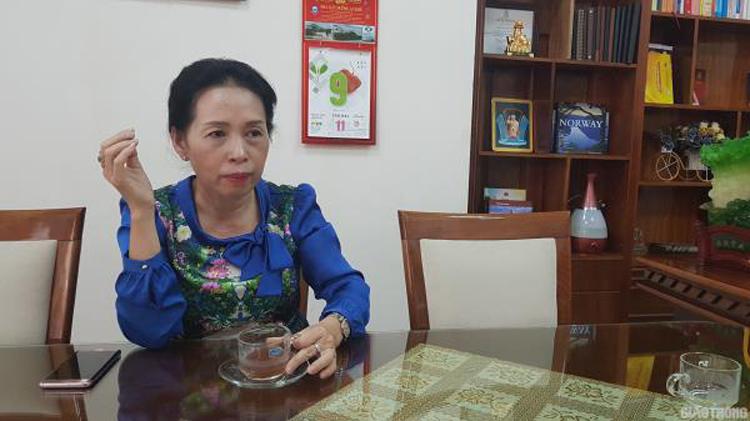 Bà Trần Thị Hoài Thanh. (Ảnh: Báo Giao Thông).