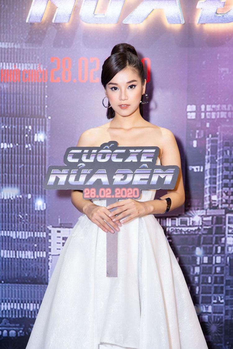 """Cuối cùng, nhân vật được xem là mỹ nhân của """"Cuốc xe nửa đêm""""- nữ chính Hoàng Yến Chibi cũng có mặt ngay sát giờ công chiếu."""